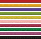 Banderas del diseño tradicional japonés. Fotografía de archivo libre de regalías