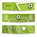 Banderas del fútbol Libre Illustration