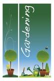 Banderas del jardín Imagen de archivo libre de regalías