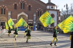Banderas del juglar Foto de archivo libre de regalías