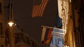 Banderas del mundo 4K UHD almacen de metraje de vídeo