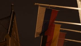 Banderas del mundo 4K UHD almacen de video