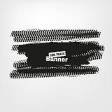 Banderas del neumático del Grunge Fotos de archivo libres de regalías