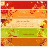 Banderas del otoño Imagenes de archivo