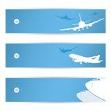 Banderas del tráfico aéreo stock de ilustración