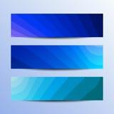 Banderas del vector fijadas stock de ilustración