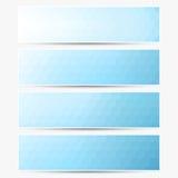 Banderas del vector fijadas Imagen de archivo libre de regalías