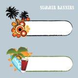 Banderas del verano Imagenes de archivo
