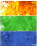 Banderas del Web Imagen de archivo libre de regalías
