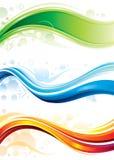 Banderas del Web Imagenes de archivo