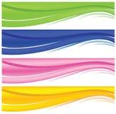 Banderas del Web Fotos de archivo libres de regalías