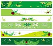 Banderas del Web del verano Imagen de archivo