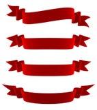 Banderas fijadas Ilustración del Vector