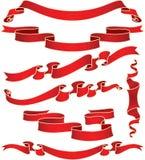 Banderas fijadas. Imagen de archivo libre de regalías