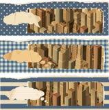 Banderas life- urbanas Imagen de archivo libre de regalías