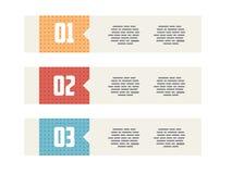 Banderas modernas planas de Minimalistic del estilo de UI ilustración del vector