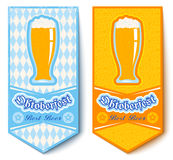 Banderas para Oktoberfest stock de ilustración