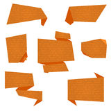 Banderas planas del vector Foto de archivo libre de regalías