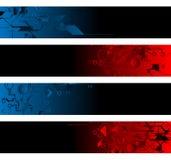 Banderas separadas ilustración del vector