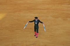 Banderillero en la plaza de toros Fotografía de archivo libre de regalías