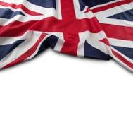 bandery europejskiej jacka fotografia stock