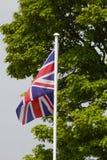 bandery europejskiej jacka Obrazy Stock