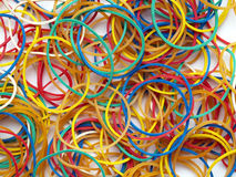 Bandes élastiques Image stock