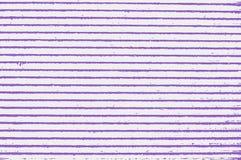Bandes bleues de violette Image stock