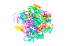 Bandes colorées 1 de cheveux Photo stock