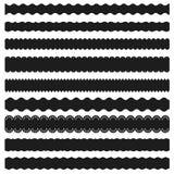 bandes décoratives illustration de vecteur