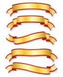 Bandes d'or illustration libre de droits