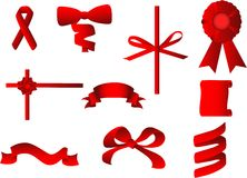 Bandes de cadeau illustration libre de droits