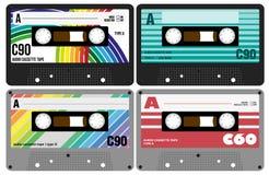 Bandes de cassette sonore illustration libre de droits