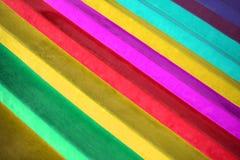 Bandes de couleur Photographie stock libre de droits