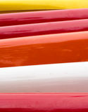 Bandes de couleurs Photo stock