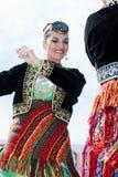 Bandes de danse balkaniques Photos stock