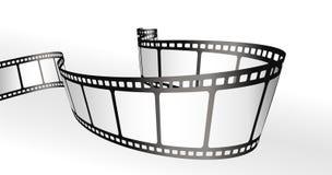 bandes de film Images libres de droits