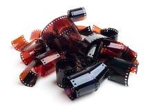 Bandes de film Photographie stock