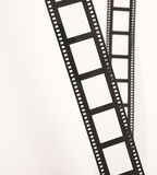 Bandes de film Photographie stock