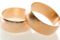 Bandes de mariage Images libres de droits