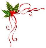 Bandes de Noël décorées Photo stock