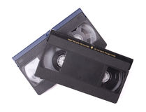 Bandes de VHS Photo stock