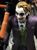 Bandes dessinées BATMAN de C.C le chiffre de Dark Knight Joker photo libre de droits