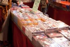 Bandes dessinées et jeux 2010 de Lucca Photos stock
