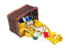 Bandes et bobines de mesure de fil Photographie stock