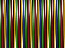 Bandes minces de verticale Photos libres de droits