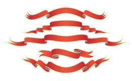 Bandes rouges Illustration de Vecteur