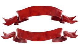 Bandes rouges Photo libre de droits