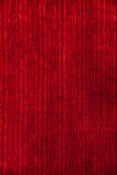 Bandes rouges de verticale de tissu de velours de papier peint Rétro fond de cru Image libre de droits