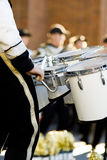 bandet drums marschkvadraten Royaltyfria Foton